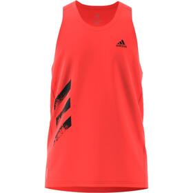 adidas OTR 3S Singlet Heren, solar red